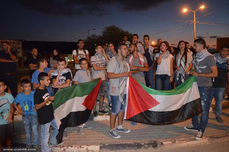 مجد الكروم: تظاهرة احتجاجية نصرة للقدس والأقصى