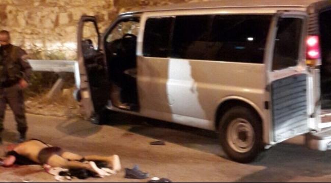 قوات الاحتلال تطلق النار على فلسطيني بشبهة محاولة تنفيذ عملية دهس