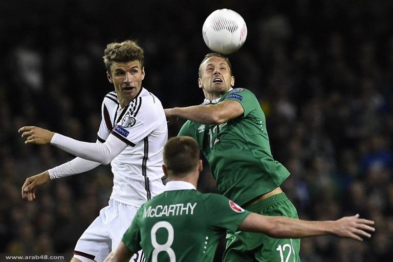 إيرلندا تهزم ألمانيا وتقلص فارق النقاط بينهما