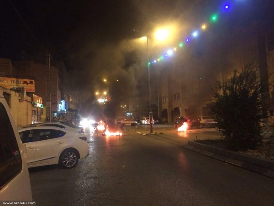 مواجهات في الناصرة وعرابة ورهط وعارة