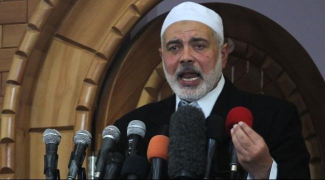 """غزة: هنية يدعو لدعم """"الانتفاضة"""" وتعميقها"""