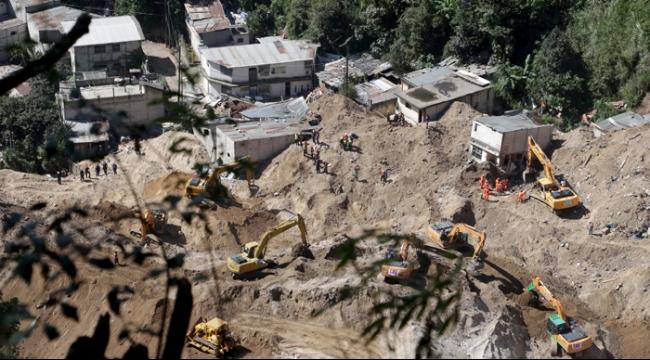 غواتيمالا: مصرع 237 وعشرات المفقودين في انهيار أرضي