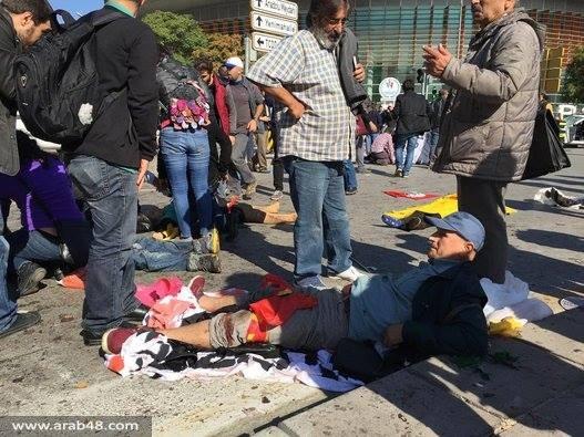 تركيا: أكثر من 20 قتيلا في انفجارات أنقرة