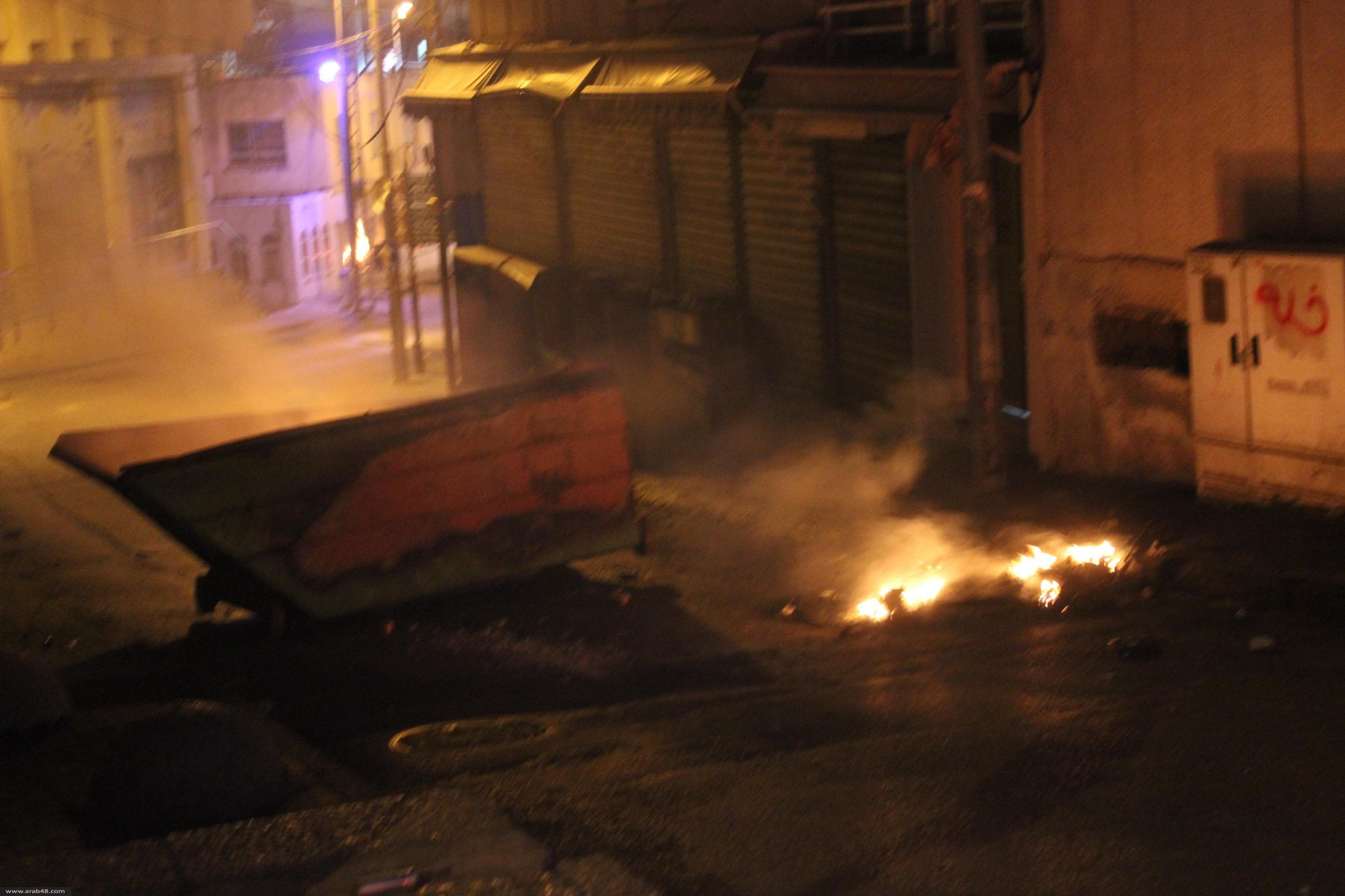 اشتباكات في أم الفحم وكفركنا والناصرة