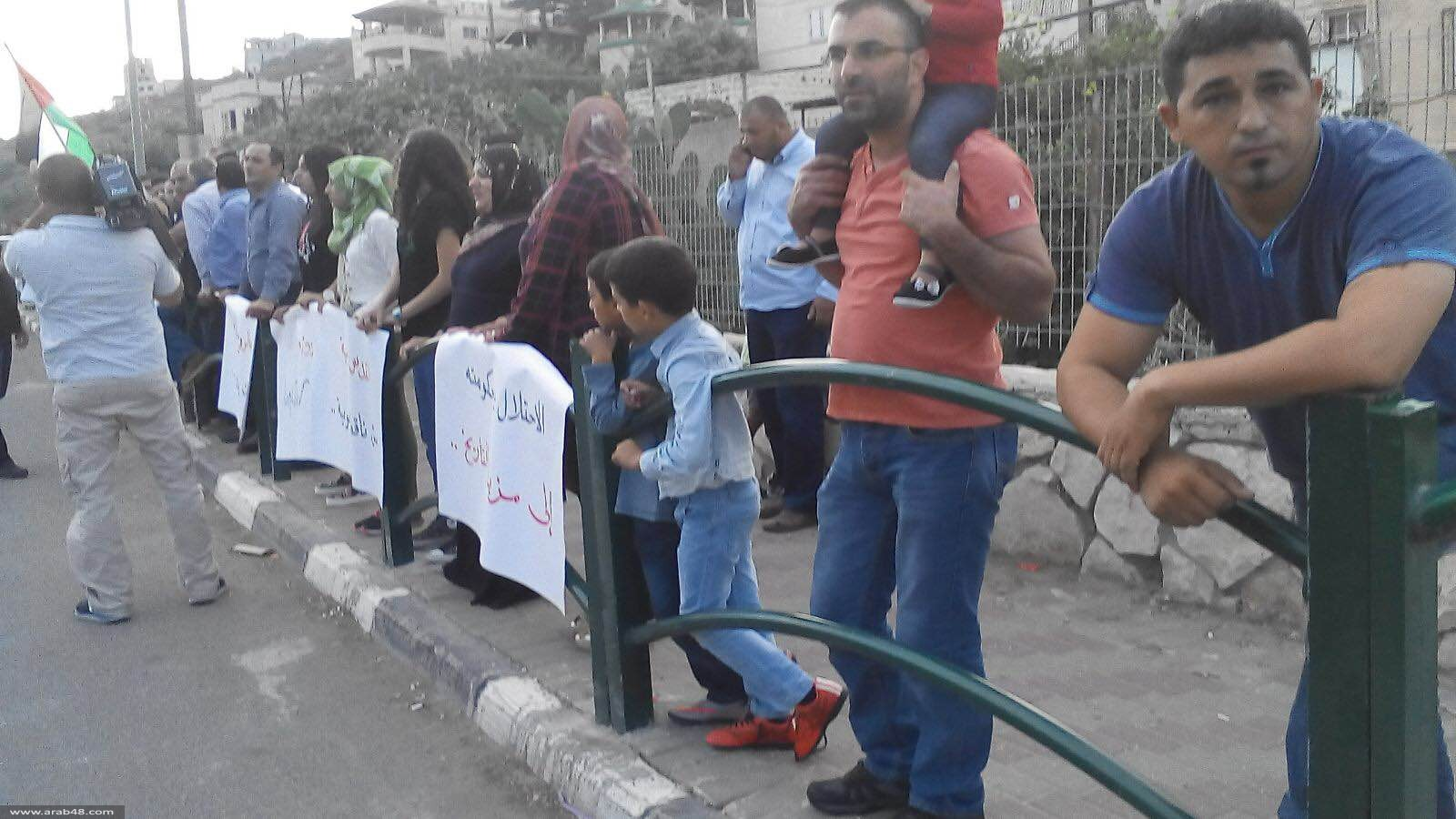 مصمص: تظاهرة لنصرة القدس وتنديدًا ببطش الاحتلال