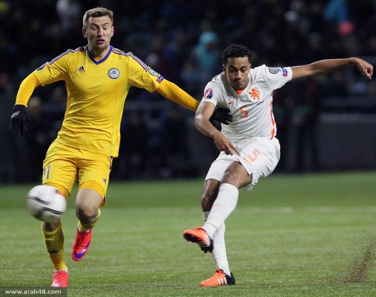 هولندا تهزم كازاخستان بهدفين مقابل هدف