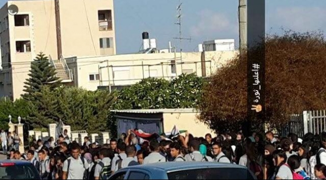مسيرة طلابية في شفاعمرو تحت شعار:  أقصانا ليس وحيدا