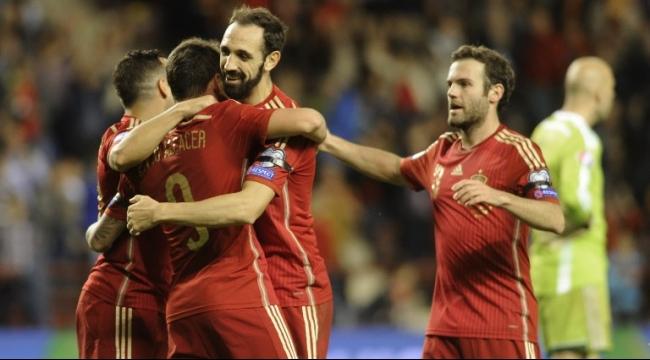 إسبانيا تتأهل لنهائيات يورو 2016 عبر بوابة لوكسمبورغ