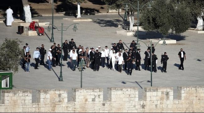 المستوطنون يقتحمون الأقصى ويهاجمون القرى الفلسطينية