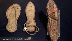 """""""خطوات عبر الزمن"""" معرض لأحذية مصر الفرعونية"""