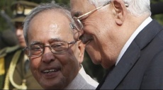 عباس يلتقي الرئيس الهندي في رام الله اليوم