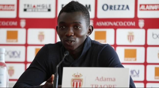 موناكو يفقد خدمات لاعبه اداما تراوريه بسبب الإصابة