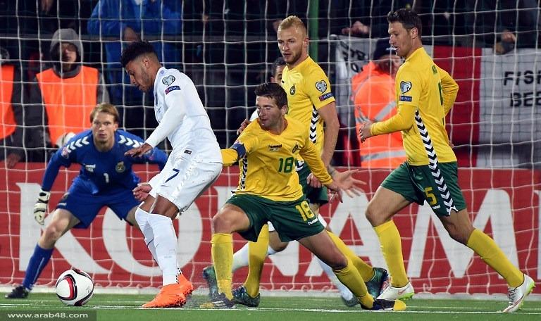المنتخب الإنجليزي يهز شباك ليتوانيا بثلاثية دون رد