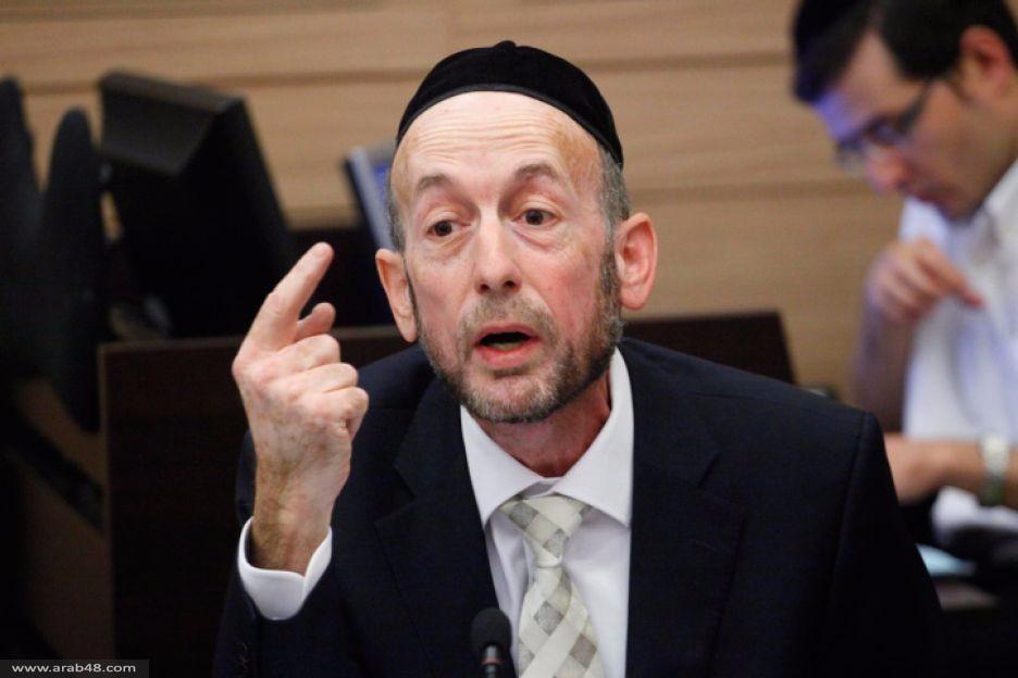 عضو كنيست: الذين يقتحمون الحرم القدسي مسؤولون عن مقتل اليهود