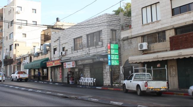 الناصرة تلتزم بالإضراب نصرة للقدس والأقصى