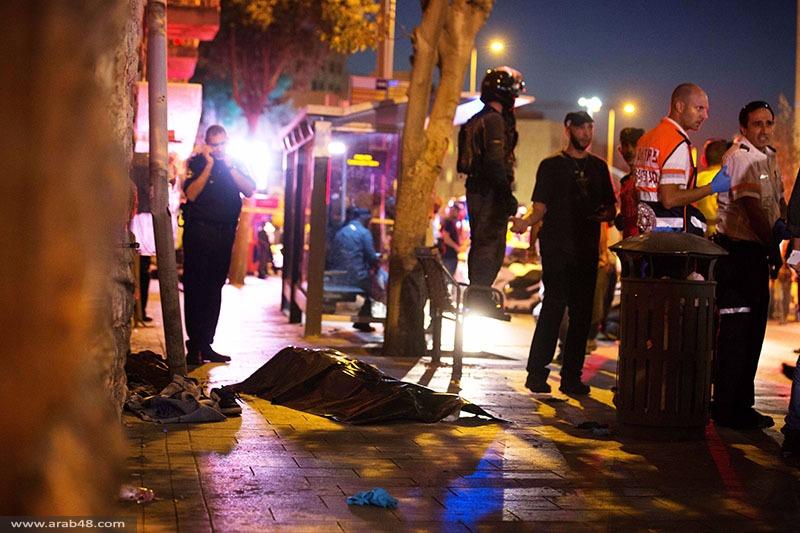 شهيدان بالقدس؛ شاهد إسرائيلي: الفلسطيني بالمحطة المركزية لم يحمل سكينا