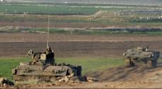 غزة: تعزيزات عسكرية على الشريط الحدودي وطائرات استطلاع