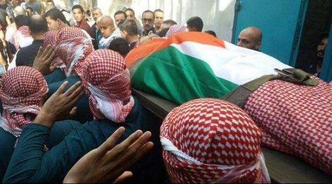 مخيم الدهيشة: تشييع جثمان الشهيد زواهرة
