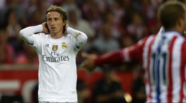 لاعب ريال مدريد لوكا مودريتش يتعرض للإصابة