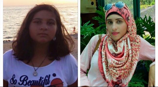 الشقيقتان عبير ووفاء ماجد كانتا محتجزتين لدى شرطة الاحتلال