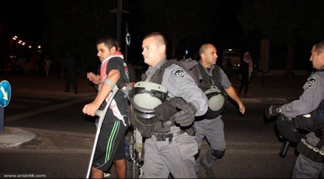 عكا: إطلاق سراح هيثم مغربي على خلفية التظاهرة
