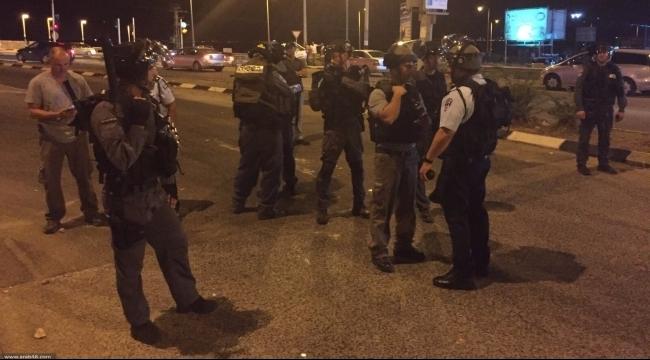 اعتقال 6 شباب عرب بادعاء إلقاء زجاجات حارقة على شارع 6