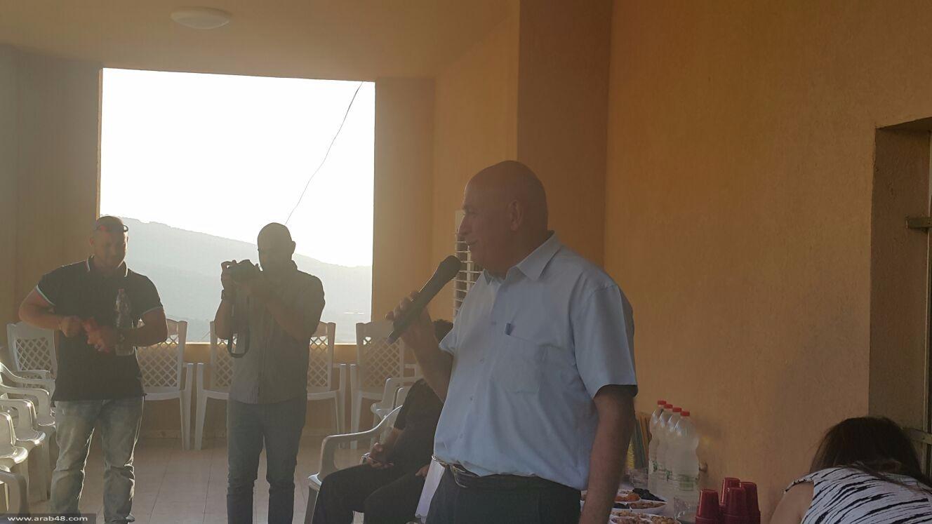 النائب غطاس يفتتح مكتبه البرلماني في الرامة