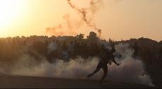 غزة: إصابة العشرات بحالات اختناق بالغاز المدمع