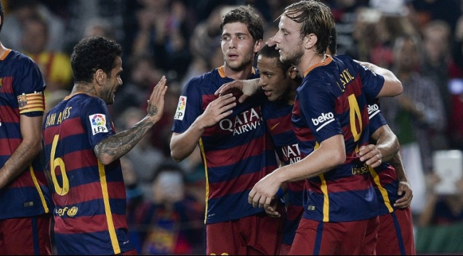 برشلونة يكتسح رايو فاليكانو بفضل سوبر هاتريك لنيمار