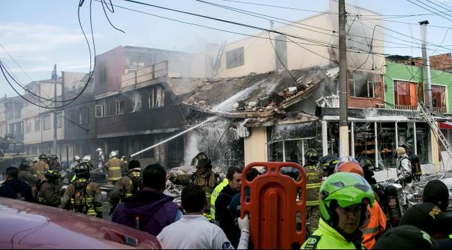 كولومبيا: 4 قتلى في تحطم طائرة صغيرة في بوغوتا