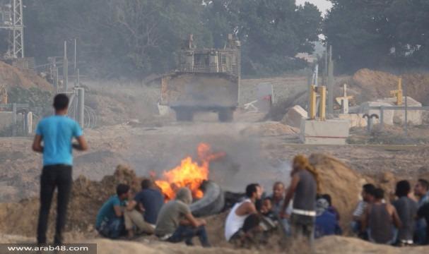 قطاع غزة: شهيد وإصابات في مواجهات مع الاحتلال