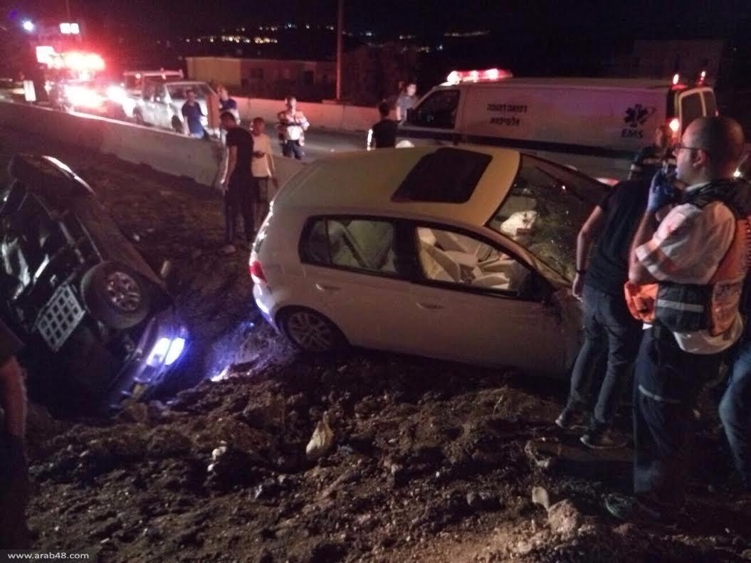 5 إصابات في حادث طرق بين عرابة وسخنين