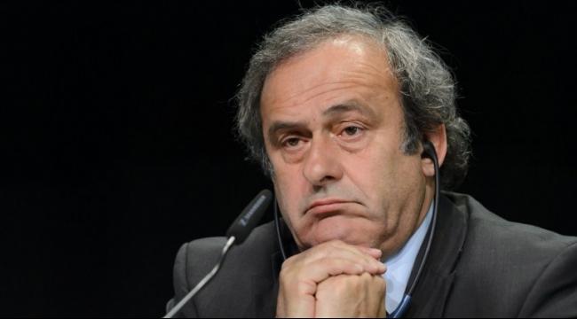 ترشيح بلاتيني لرئاسة الفيفا معلّق في أعقاب إيقافه
