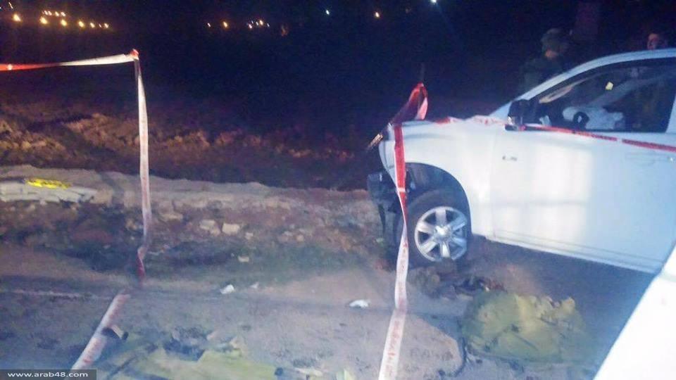 بيت أمر: إصابة 4 جنود احتلال بعملية دهس وإصابة السائق