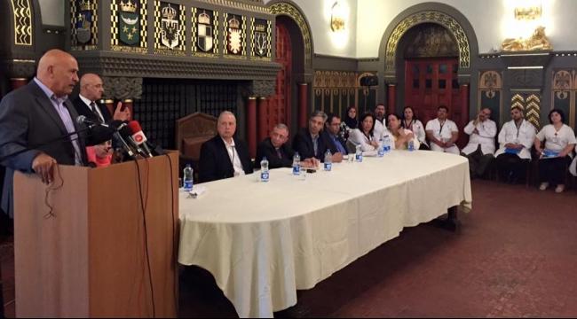 غطاس يطالب برفع التضييقات عن مشافي القدس