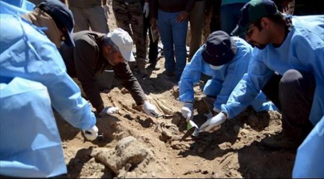 """""""داعش"""" يدفن مسلحيه في مقابر جماعية لإخفاء خسائره"""