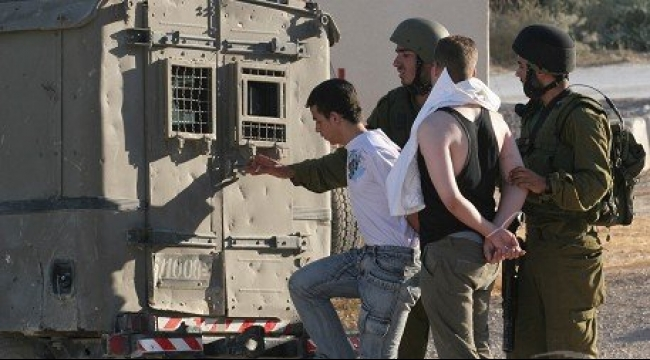 سلوان: الاحتلال يعتقل امرأة و5 قاصرين