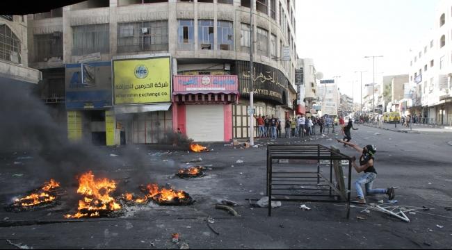 إصابة عشرات الفلسطينيين بمواجهات مع قوات الاحتلال بالضفة