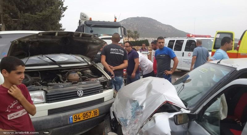 إصابتان خطيرتان في حادث طرق مروع قرب دبورية وإكسال