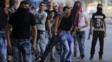إصابات في مواجهات بين الفلسطينيين وقوات الاحتلال
