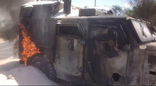 سيناء: مقتل 3 مجندين وإصابة 8 في تفجير مدرعة شرطة