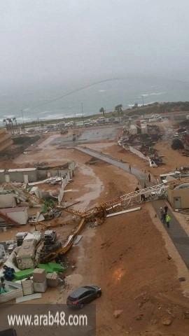 بسبب الأجواء العاصفة: قتيل وإصابتان خطيرتان