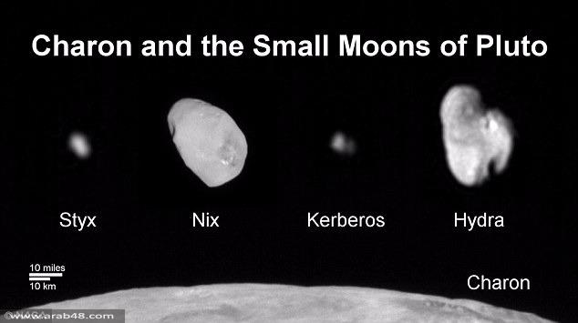 """ناسا"" تنشر صور قمر بلوتو المشرق: كيربيروس"
