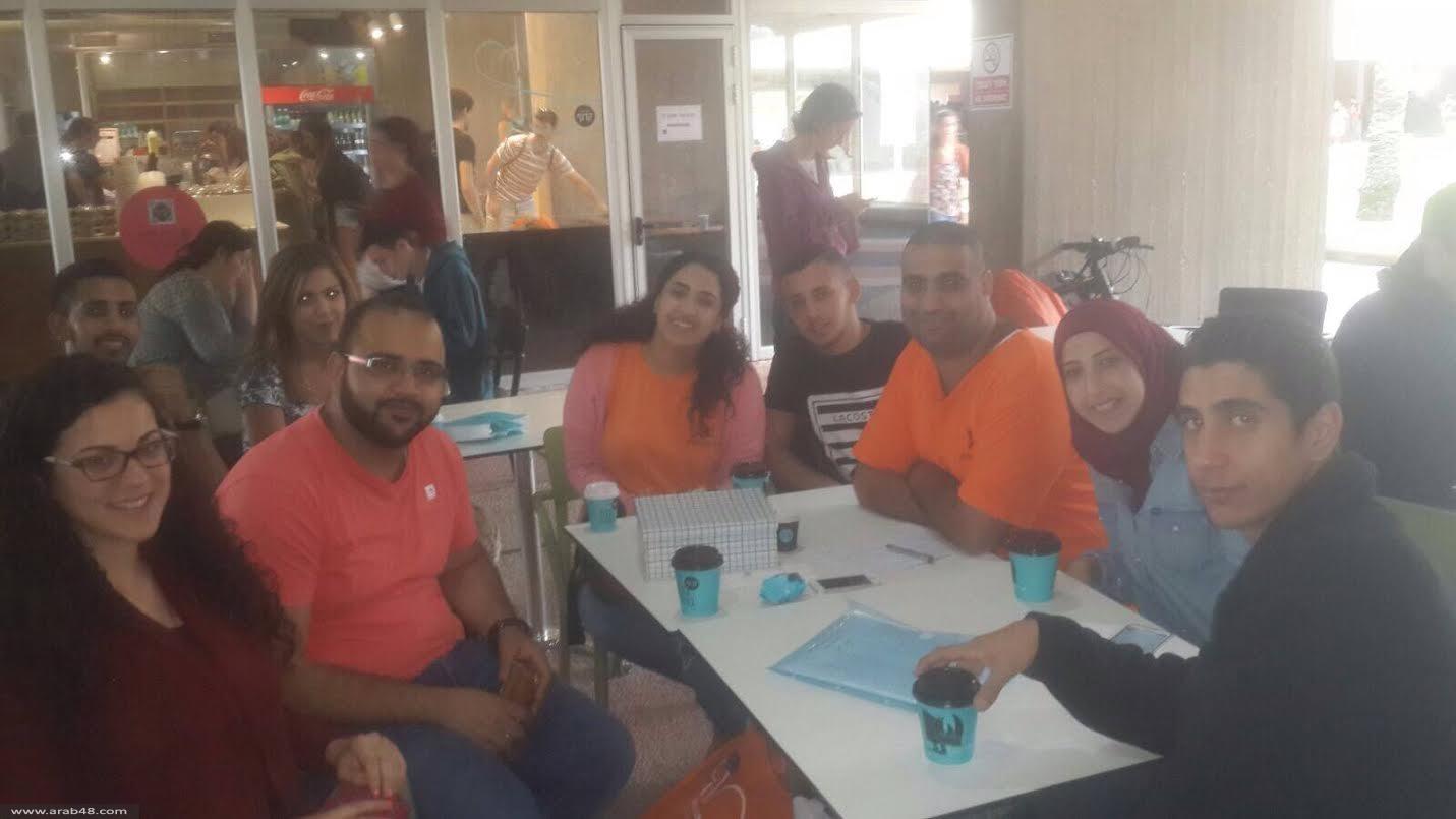 """""""بالعربي أحلى"""": التجمّع الطلابي في بئر السبع يفتتح نشاطاته"""