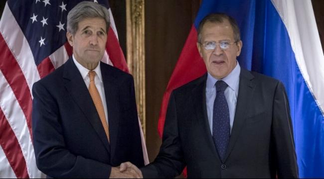 لافروف وكيري بحثا احتمالات الحل السياسي بسوريا