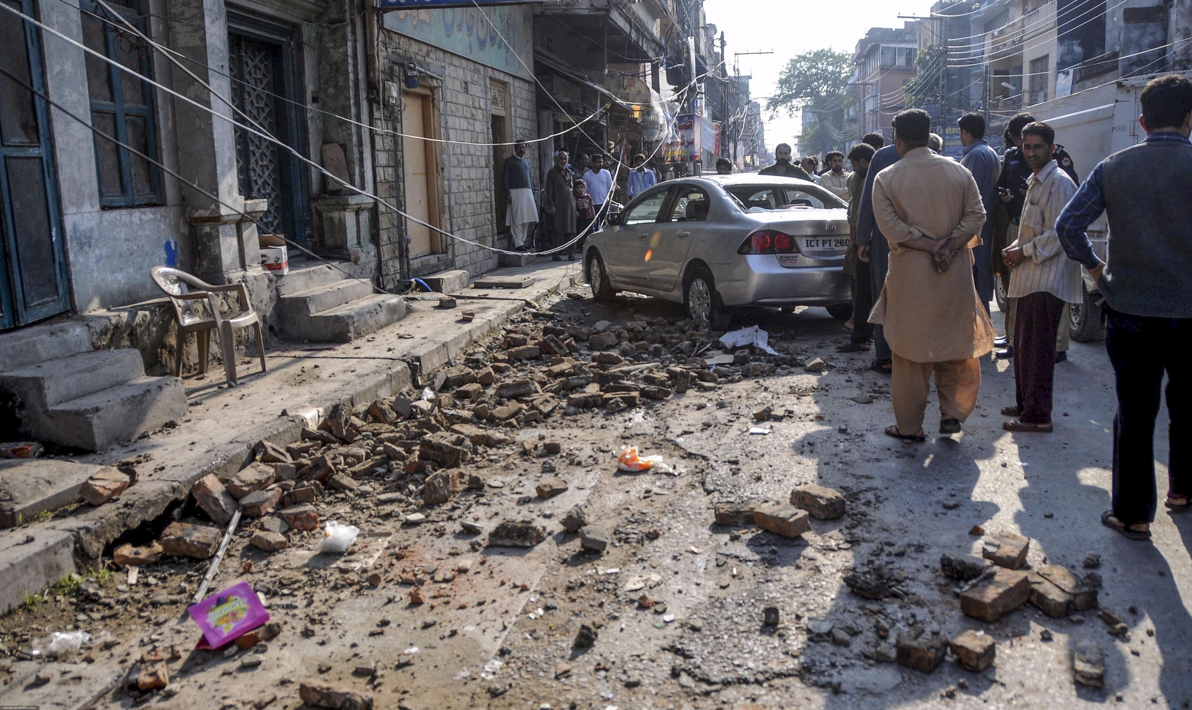 ارتفاع حصيلة ضحايا زلزال باكستان وأفغانستان إلى 160