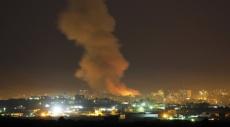 قطاع غزة: الطيران الحربي الإسرائيلي يقصف موقعين لحماس