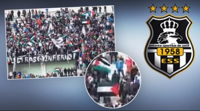 جماهير وفاق سطيف تتضامن مع الشعب الفلسطيني
