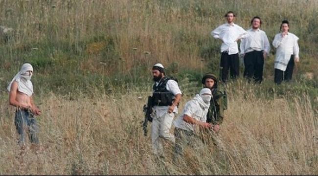 المستوطنون يعتدون على قاطفي الزيتون... ويطلقون النار في حوارة