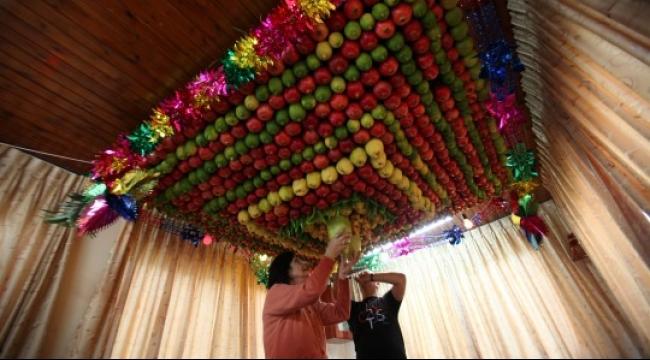 نابلس: السامريون يحتفلون بعيد العُرٌش